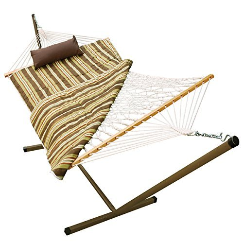 Algoma Rope Stand Alone Hammock With Pillow ()