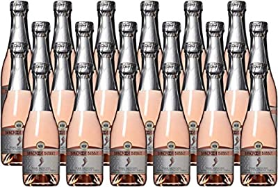 Barefoot Bubbly California Pink Moscato Sparkling Wine 24 x 187 mL from Barefoot Wine & Bubbly