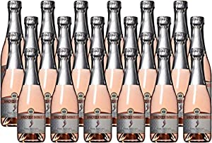 Barefoot Bubbly California Pink Moscato Sparkling Wine 24 x 187 mL