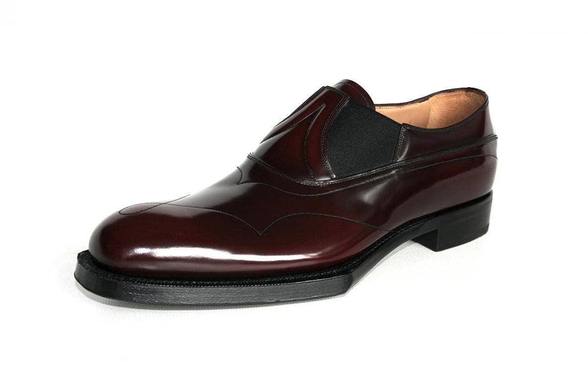 Prada - Mocasines de Piel para Hombre marrón Cordovan: Amazon.es: Zapatos y complementos