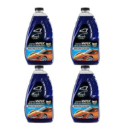 Eagle One 836605-CASE Nano Wax As-U-Wash Car Wash - 64 oz, (Case of ()