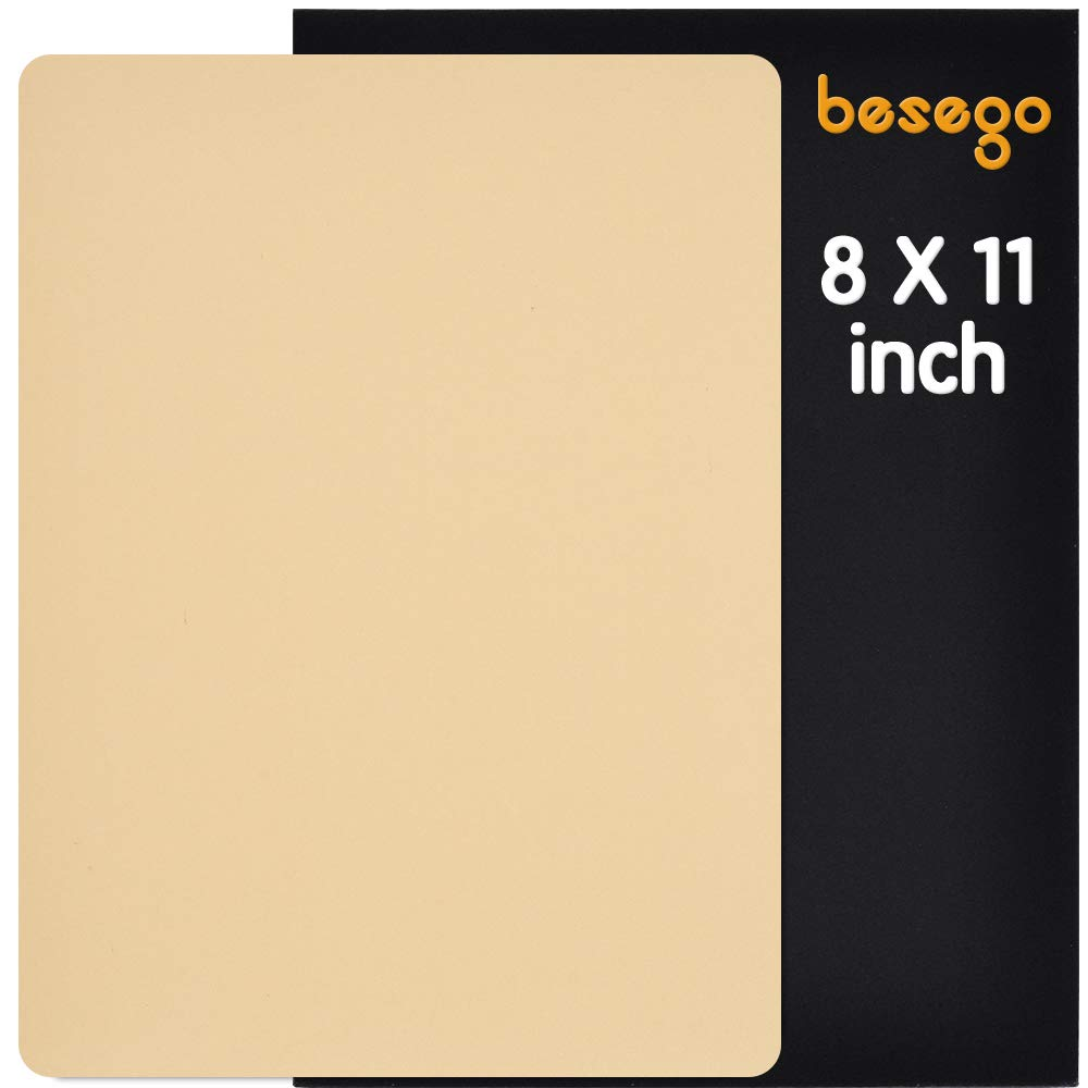 Besego Leather Repair Patch, Self-Adhesive Patch for Sofas, Drivers Car Seat, Couch, Handbags, Jackets - 8 × 11inch
