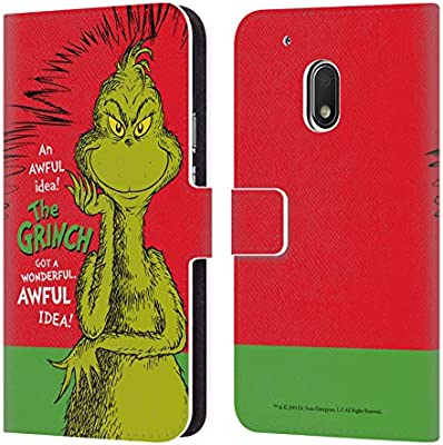 Amazon.com: Official Dr. Seuss Awful Idea The Grinch Classic ...