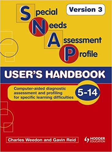 Online Handbook For Special Needs >> Buy Snap Spld Users Handbook V3 Special Needs Assessment Profile