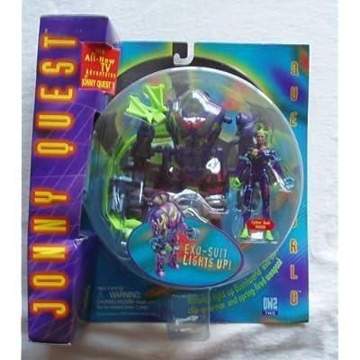 1996 Jonny Quest Galoob EXO-SUIT LIGHT UP: Toys & Games