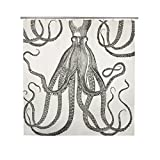 thomaspaul Octopus Shower Curtain, Ink