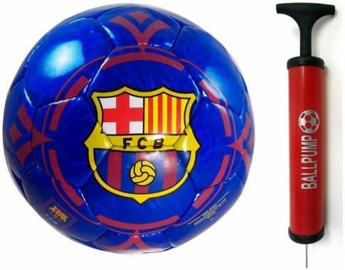 Rhinox Balón de fútbol Oficial del FC Barcelona Color Azul ...
