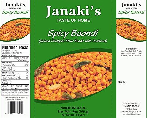 Janaki's Spicy Boondi (Pack of 10) by Janaki's