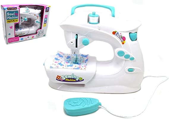 Amazon.es: Máquina de coser de juguete Máquina de coser eléctrica ...
