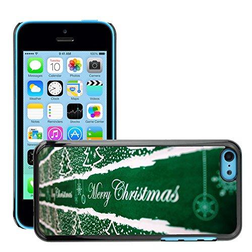 Premio Sottile Slim Cassa Custodia Case Cover Shell // M00153993 Contexte de Noël // Apple iPhone 5C