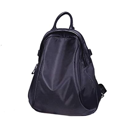 48819ddb17 Image Unavailable. Image not available for. Colour  Di Grazia Convertible (2  way) Womens Waterproof Handbag Backpack (Black ...