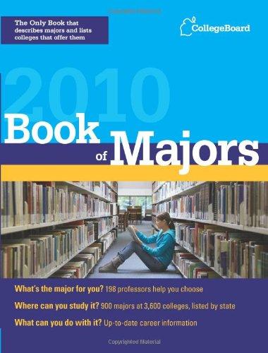 Book of Majors 2010 (College Board Book of Majors)