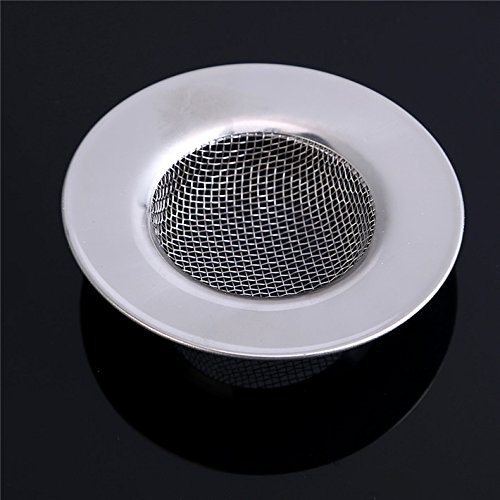 JD Million shop Stainless Steel Bathtub Hair Catcher Stopper Shower Drain Hole Filter Trap Metal Sink Strainer