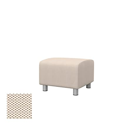 Amazon.com: Soferia Replacement Cover for IKEA KLIPPAN Pouf ...