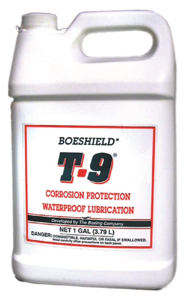 BOESHIELD T-9 Rust & Corrosion Protection/Inhibitor and Waterproof Lubrication, 1 Gallon Jug by Boeshield