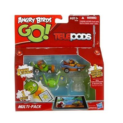 Angry Birds Go! – Telepods – A6181 – Multi-pack – 2 Karts Exclusifs – Modèle Aléatoire