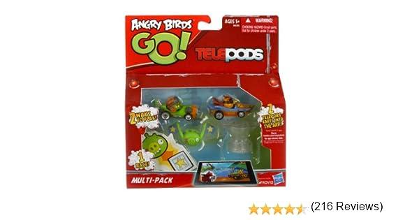 Lanzadora Hasbro A6029 Angry Birds Pack de Juego de construcci/ón