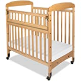 Child Craft Bella Professional Child Care SafeAccess Compact Crib, Natural