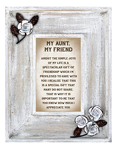 LoveLea Down Home Collection Tabletop Frame, Aunt by CB Gift