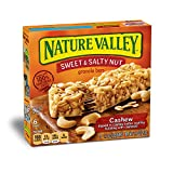 Cheap Nature Valley Granola Bars, Sweet and Salty Nut, Cashew, 6 Bars – 1.2 oz (Pack of 6)