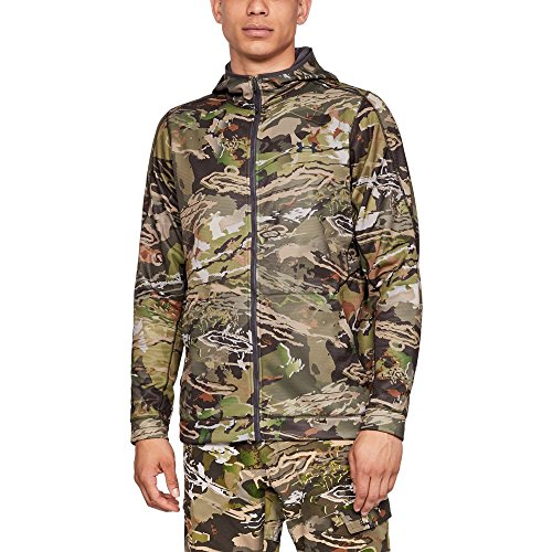 Under Armour Men's Stealth Reaper Early Season Hoodie, Ua Forest Camo (940)/Black, X-Large (Hoodie Camo Armour Under)