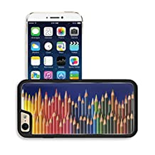 Luxlady Premium Apple iPhone 6 iPhone 6S Aluminium Snap Case Colored pencils IMAGE ID 27603224