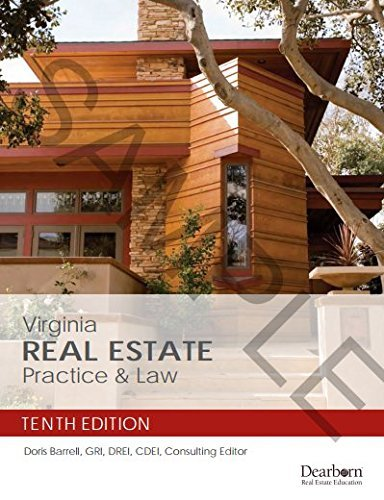 Virginia Real Estate Practice & Law - 10th Edition by Doris Barrell - Mall Dearborn