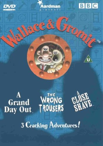 Wallace & Gromit, 'A Grand Day Out', The 'Wrong Trousers' & 'A Close Shave' [1992] [DVD] Region 2