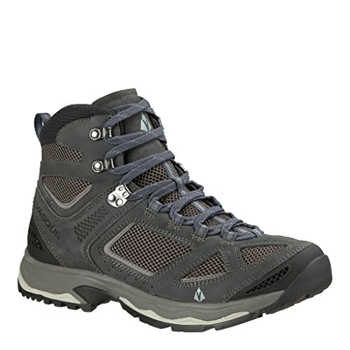 Boot Gtx Mid Backpacking (Vasque Men's Breeze III Ebony/Gargoyle 9.5 M US M)