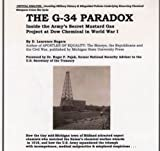 The G-34 Paradox: Inside the Army's Secret Mustard Gas Project at Dow Chemical in World War I