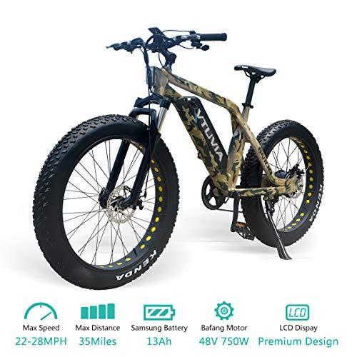 VTUVIA Electric Bike 26