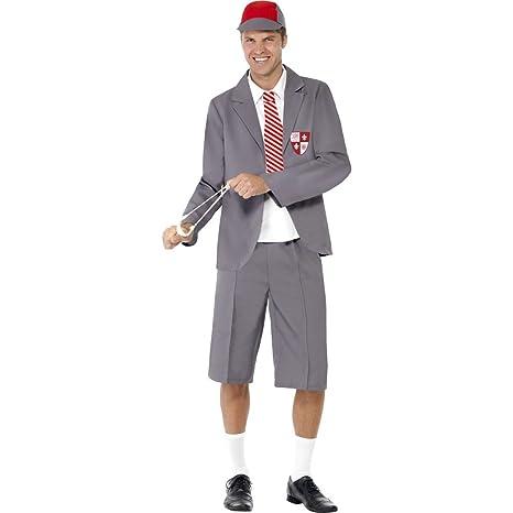 NET TOYS Costume da scolaretto da Uomo , M (IT 50/52)
