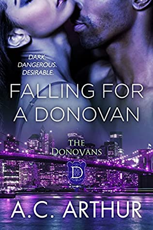 book cover of Falling For A Donovan