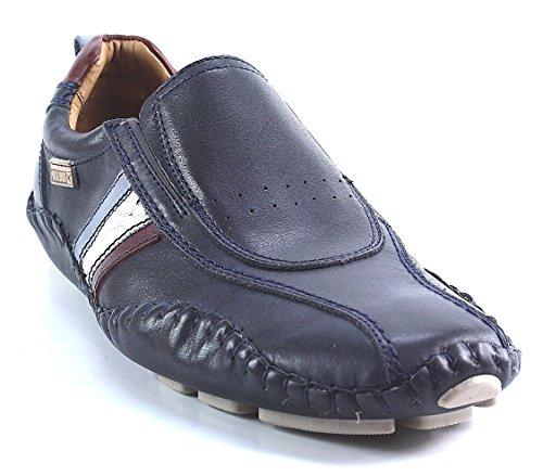 Pikolinos 15A-6044 Fuencarral Zapatos Mocasines de cuero para hombre Blau