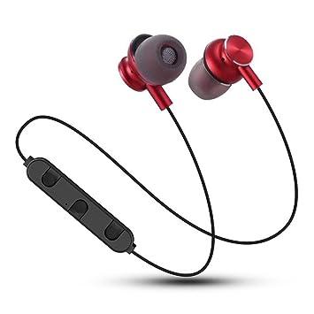 Winwintom Auriculares Bluetooth Inalambricos,Auriculares Deportivos,De Volumen para iPhone, Samsung Galaxy S9