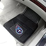 Tennessee Titans Official NFL 18 inch x 27 inch Heavy Duty Front Seat 2-Piece Car Mat Set by Fanmats