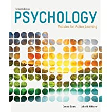 Psychology: Modules for Active Learning by Dennis Coon (2014-01-01)