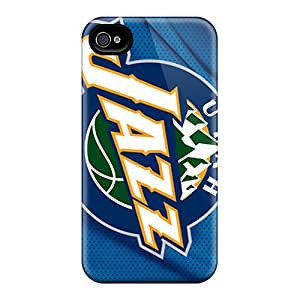 Iphone 6plus OoZ4054yhvP Support Personal Customs Lifelike Utah Jazz Pattern Shockproof Cell-phone Hard Cover -JasonPelletier