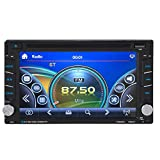 Alloet New 6.2 inch Multimedia Bluetooth Touch Screen 2 Din HD Car DVD/USB/SD Player GPS Navigation FM/FM Radio