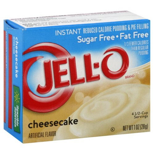 Jell-o Pudding & Pie Filling Reduced Calorie Instant Cheesecake 1 Oz- 12 Packs ()