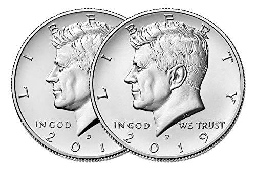2019 P & D Kennedy Half Dollar Clad Uncirculated ()