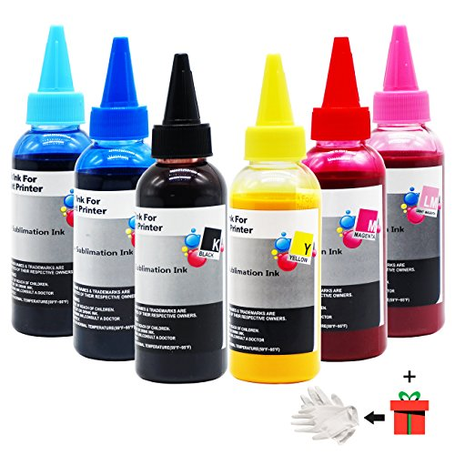 - Printers Jack 600ml Sublimation Ink for Inkjet Printer Press Heat Transfer Ink for Artisan 1430 50 837 730 835 810 Stylus Photo Printers 1400 1410 1500W RX560 RX580 on Mug Cup T-shirt Pillow