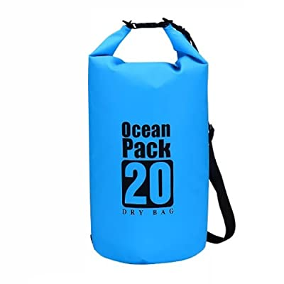 EVATECH Dry Bag Waterproof Bag for Fishing, Kayaking, Camping, Beach, Boating, Hiking, Snowboarding and More,Heavy Duty Dry Sack Built to Last