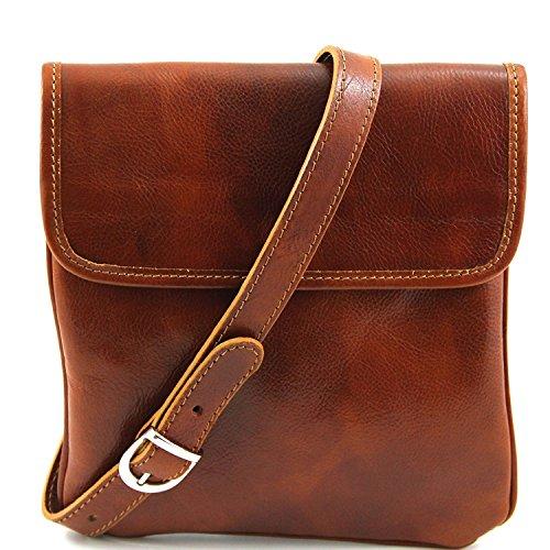 Leather Bolsillo TL140987 Miel 2 Joe piel en Tuscany Negro unisex wHqEdwC