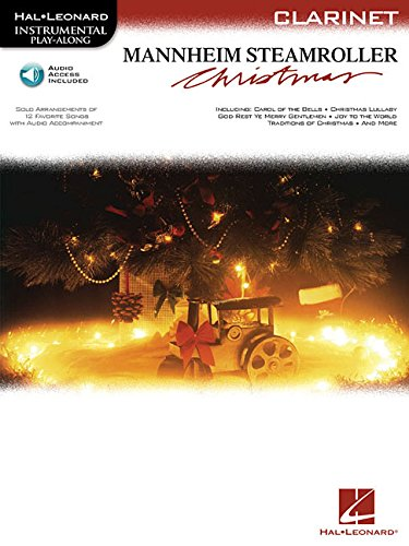 Mannheim Steamroller Christmas: Instrumental Play-Along Series Book with Online Audio for Clarinet (Hal Leonard Instrumental ()