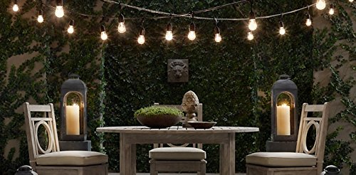 Commercial Patio Lights Outdoor patio string lights heavy duty hanging patio lights 50 outdoor patio string lights workwithnaturefo