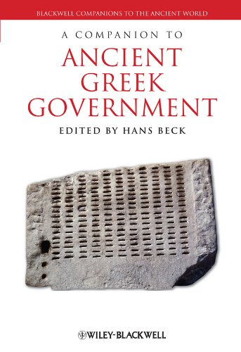 A Companion to Ancient Greek Government