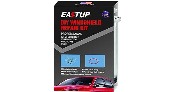 Amazon.com: eastup Kit de reparación de parabrisas chip Fix ...