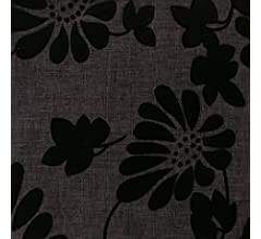 Finezja Struktur Web Möbel Bezug Polsterstoff Meterware Flockdekor Blume floral