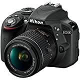 Nikon D3300 w/ AF-P DX 18-55mm VR Digital SLR – Black